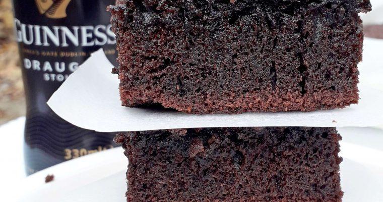 Brownies cu bere neagra