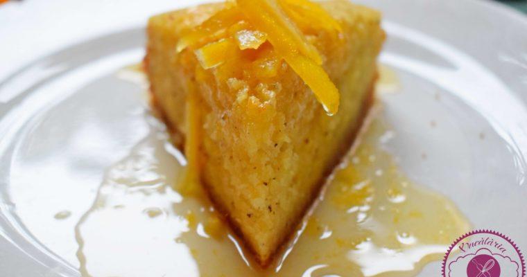 Prajitura cu portocale si mac