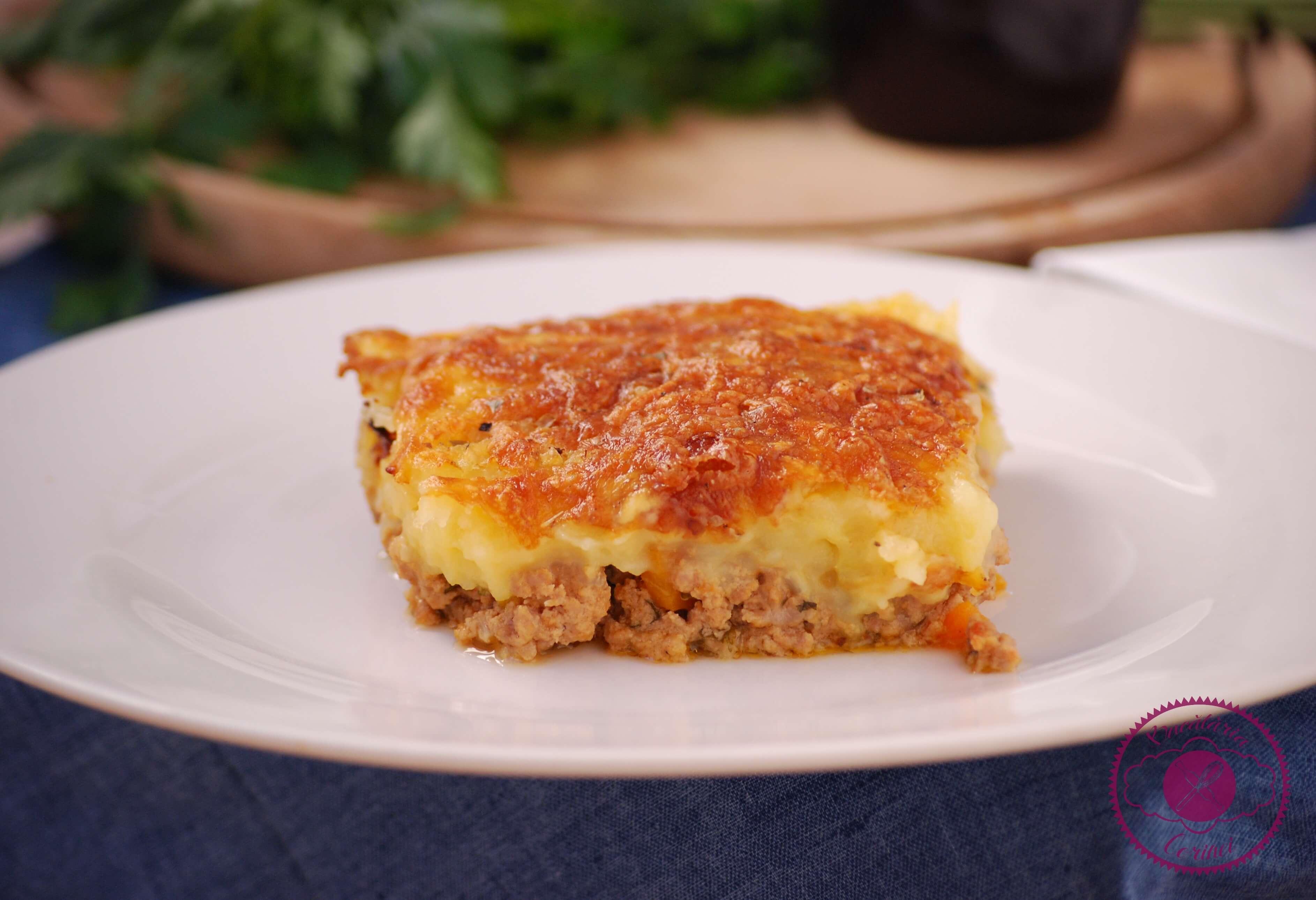 Cottage pie (Musaca de cartofi cu carne tocata)