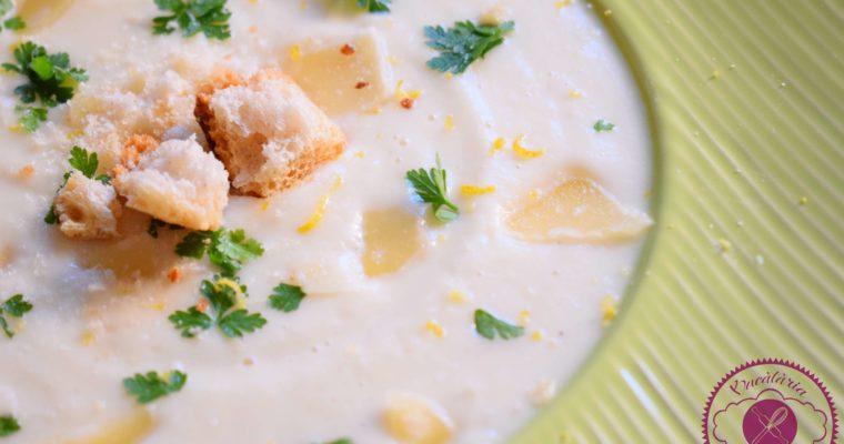 Supa crema de telina si pastarnac