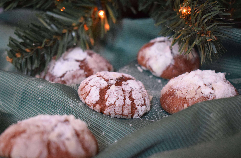 Chocolate Crinkles (fursecuri cu ciocolata)